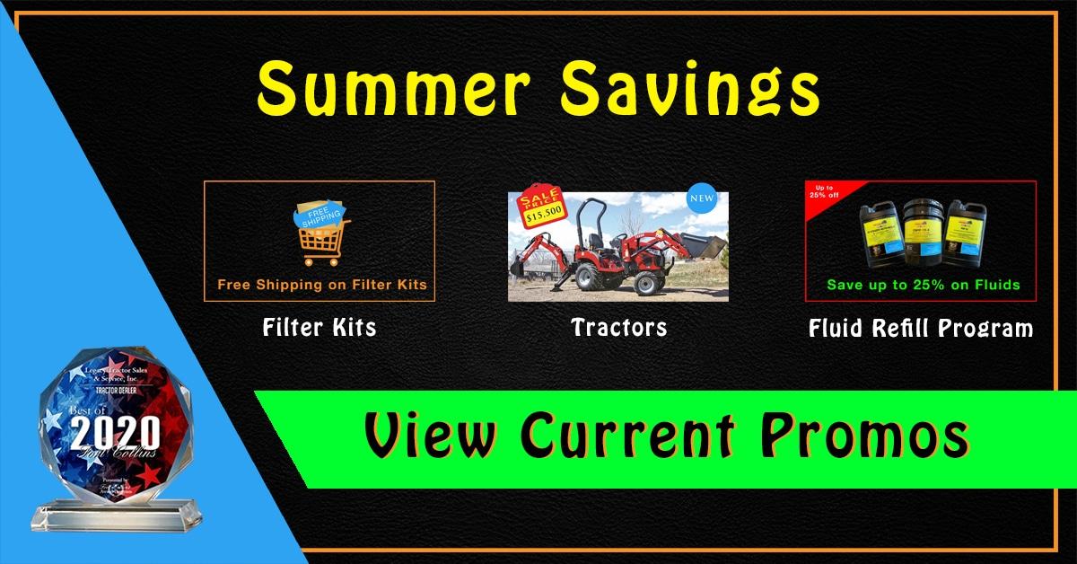Tractor Summer-Savings